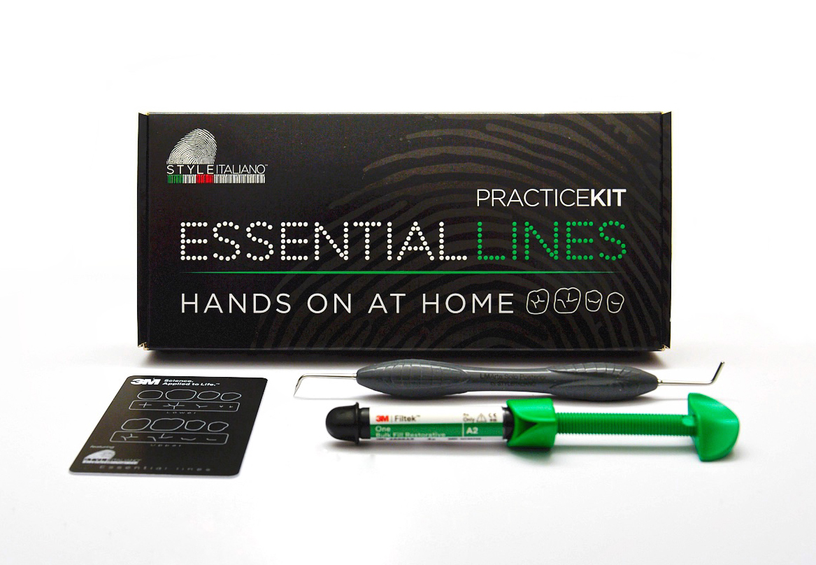 style italiano styleitaliano essential lines course practice kit included hands-on at home 3M and LM ARTE SOLO Posterior